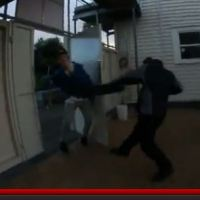 Skater Boy Whacked By Eden Park Security Guard
