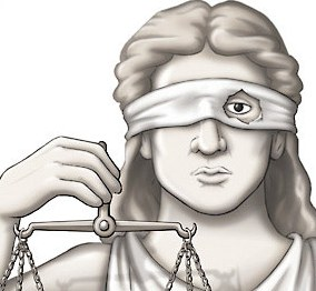 justice is not blind