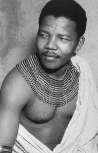 Nelson Mandela as a young man in South Africa