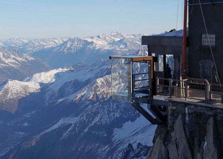 Chamonix lookout