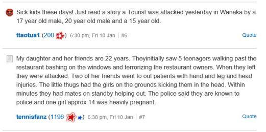 violent attack two