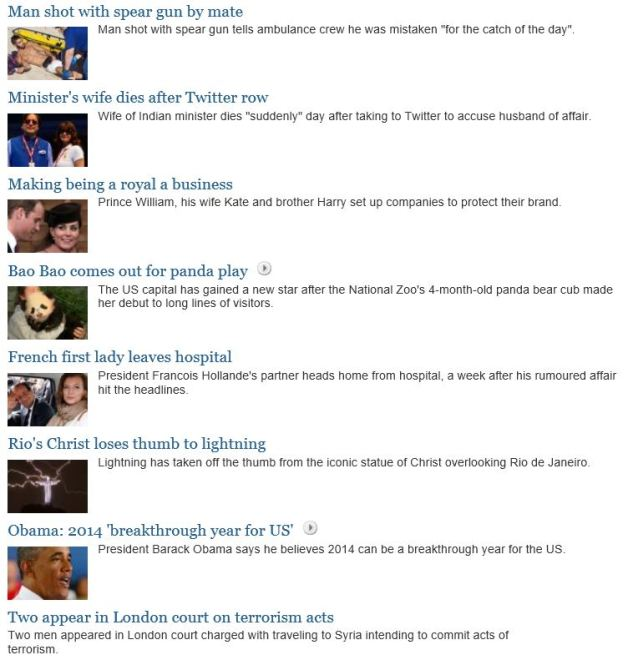 world news stuff