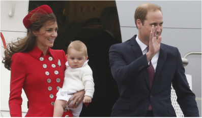 royal arrive in windy welly