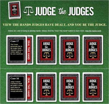 judge the judges