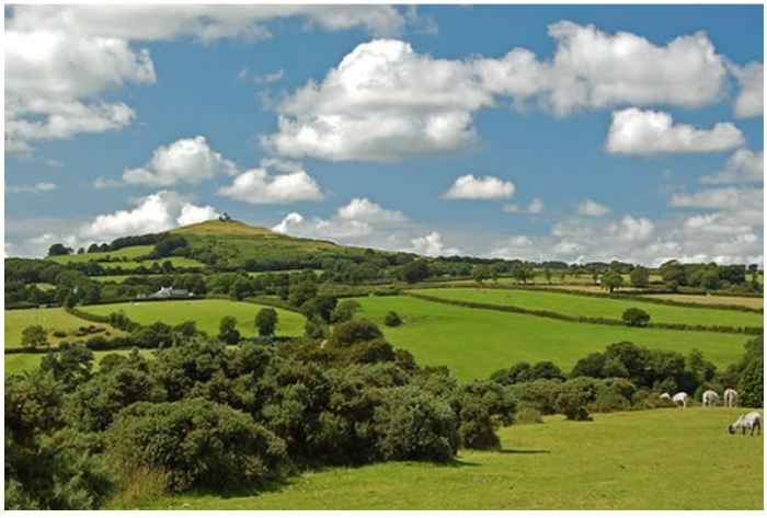 Glastonbury Tor. Living in NZ makes you realise what you've left behind.