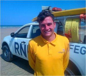 Steve Gregory wearing his UK attire