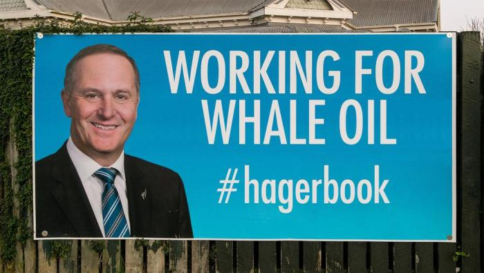 """Working for Whale Oil,"" from a tweet by Martyn Bradbury"