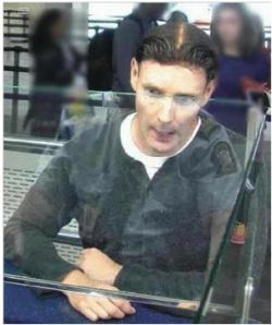 Phillip John Smith pictured at Auckland airport on 6 Nov