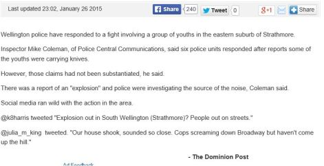 The Dom Post's report