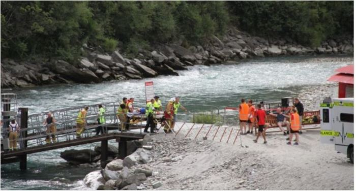 More people injured in an NZ adventure tourism incident, this time the Shotover Jet