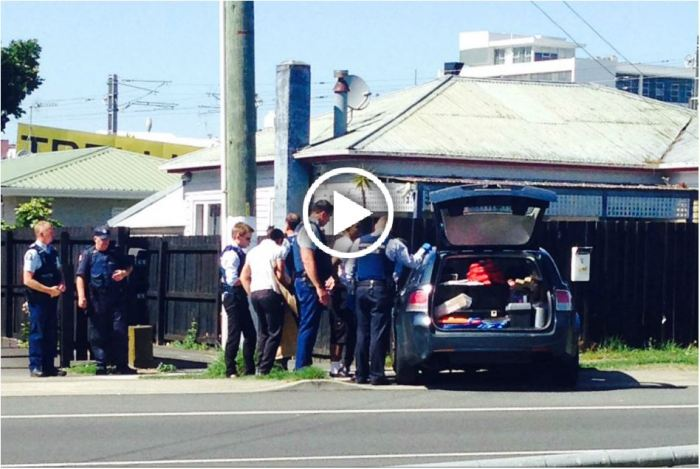 ASB bank robbery