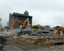 4 years later Christchurch is still an active demolition site