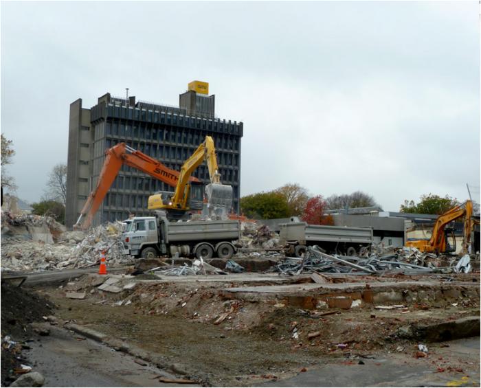 Christchurch demolition