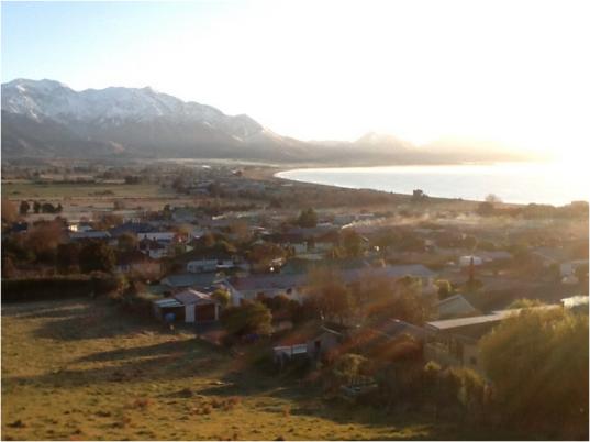 Kaikoura view