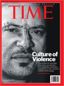 Time Magazine. New Zealand's violence has an international reputation.