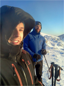 Etienne Lemieux & Louis-Vincent_skiing