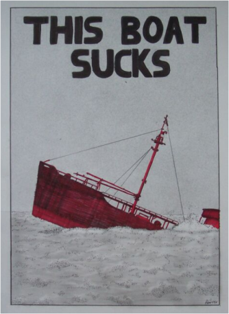 NZ is a sinking ship