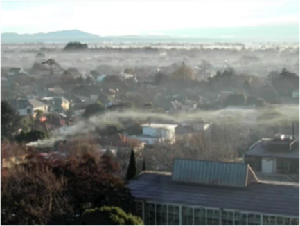Air pollution in Christchurch