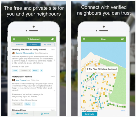 Is there something wrong with the social cohesiveness of New Zealand if people need an app like Neighbourly ?