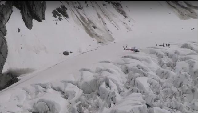 fox glacier crash site