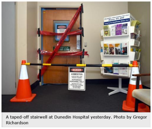 dunedin hospital asbestos