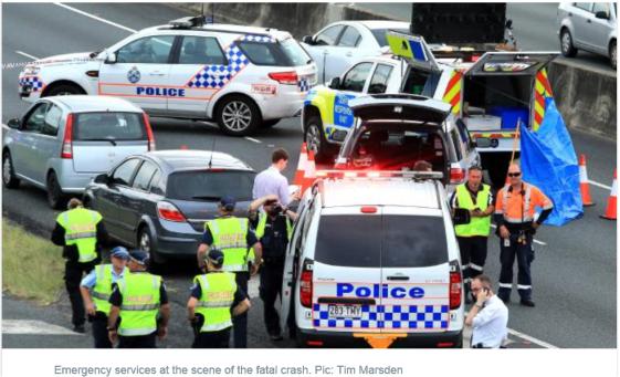 murder on brisbane motorway