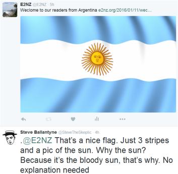 Argentina tweet