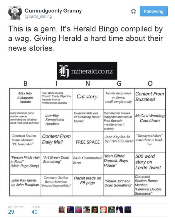 Herald Bingo