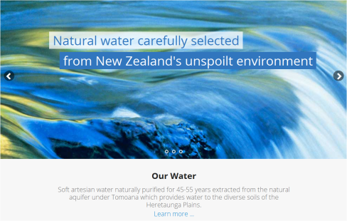 miracle water blurb