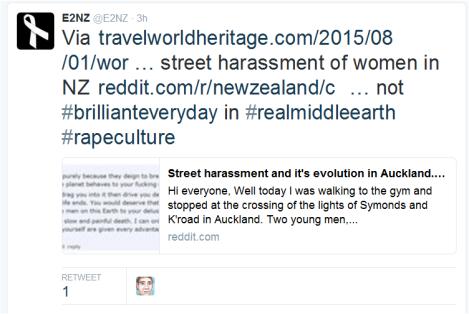 street harassment
