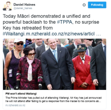 John Key withdraws from Waitangi Day celebrations