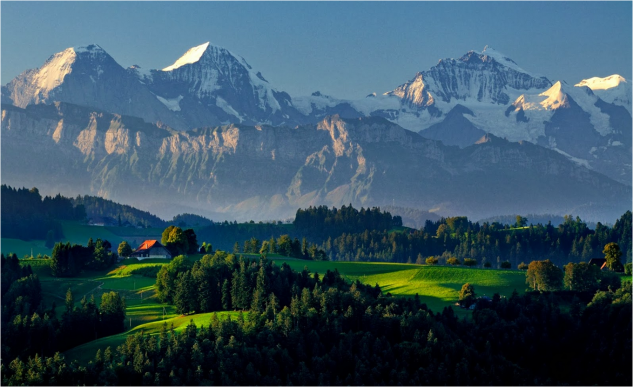 Switzerland, a world away from New Zealand