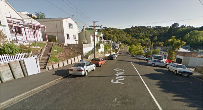 Forth street Dunedin scene of abduction attempt
