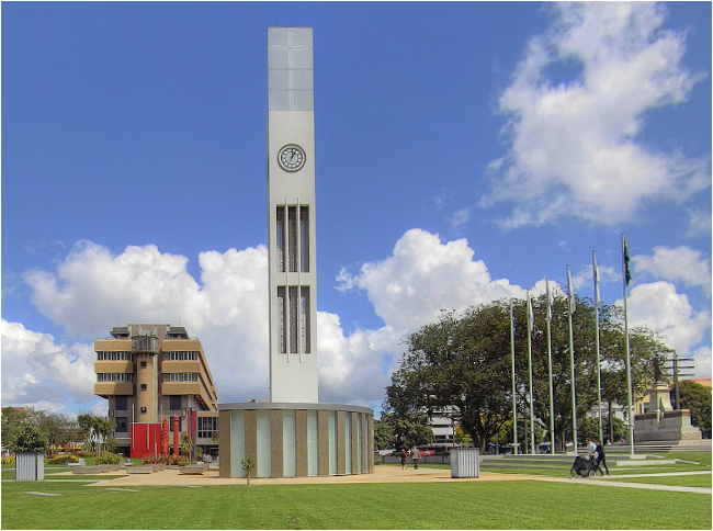 palmerston north's clock tower