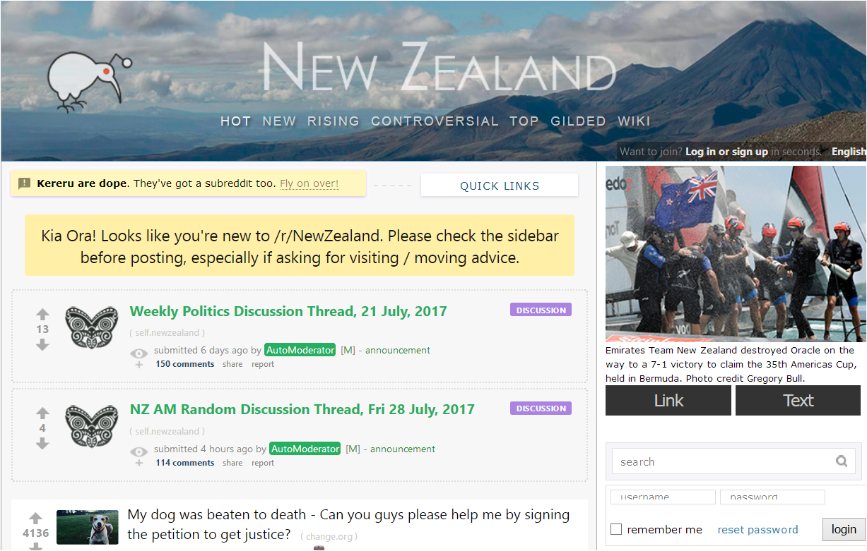 What are some of the downsides to living in New Zealand