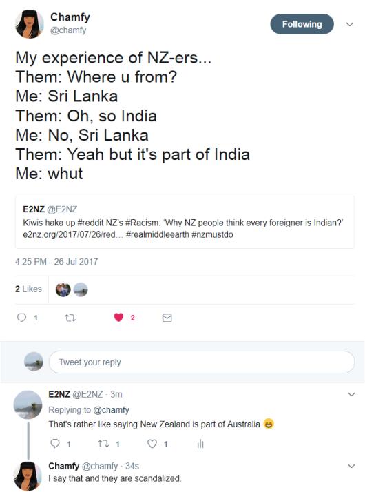 twitter response