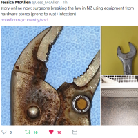 "Is New Zealand Third World? ""Cost-cutting surgeons are using hardware tools in our hospitals"" Just Like Moldova"