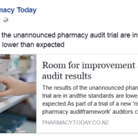 The Results of Unannounced Pharmacy Audits are in, The Standards are Lower than Expected