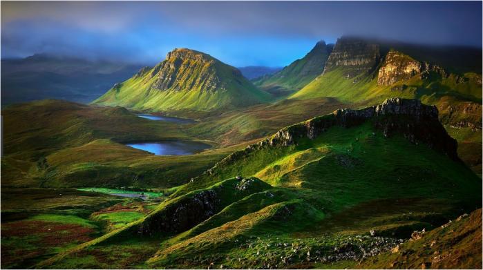 Skye pastures